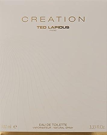 Ted Lapidus Creation Eau de Toilette Spray, 3.33 Ounce