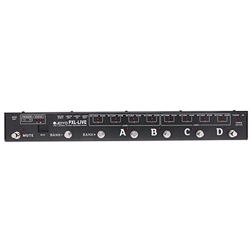 Joyo PXL LIVE Dual 4-Channel Programable Pedal Controller