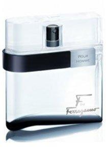 F Ferragamo Black for Men Gift Set - 3.4 oz EDT Spray + 2.5 oz Aftershave Balm + 2.5 oz Shower Gel