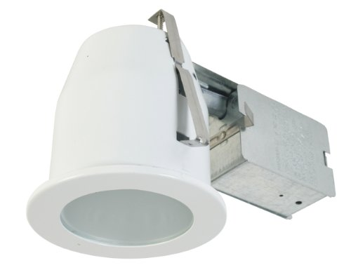 Eurofase Lighting Trim - Eurofase TH-P08-02 Shower Flat Glass PAR20 Housing/Trim Kit, White