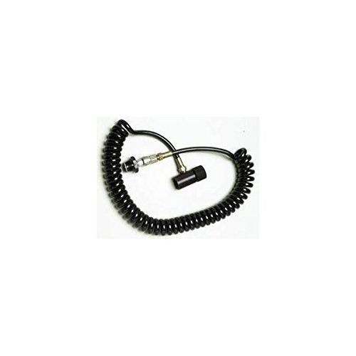 (PBaller Paintball CO2 HPA Thick Coiled Remote QD ON/OFF)
