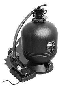 Waterway Plastics 806105504838 520-5377-6SH s 26'' CareFree Sand Filter with 2hp Pump by Waterway Plastics