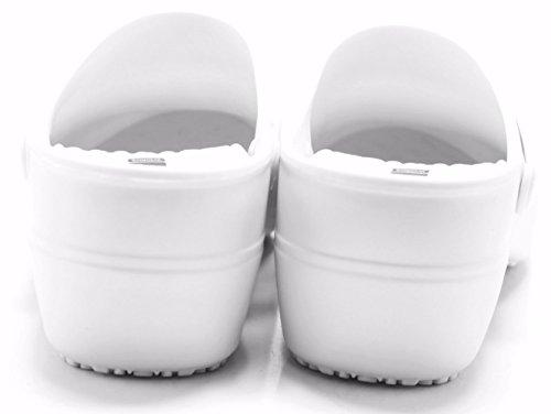 White Shoes Women Nursing Synthetic Clogs for Boaonda Comfortable Work Clogs Bio qPvxwWFpzS
