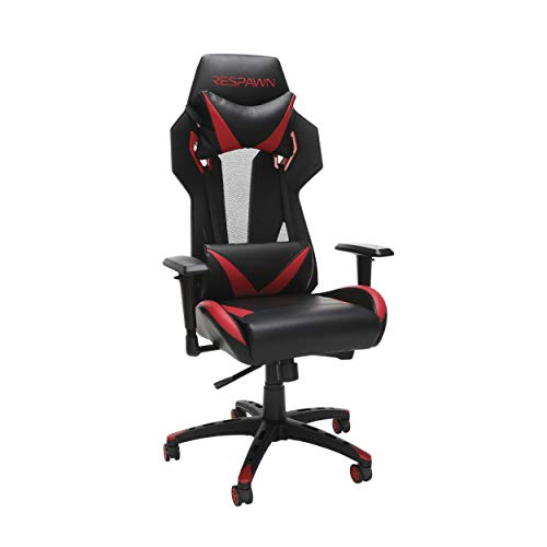 RESPAWN-205 Racing Style Gaming Chair -  Ergonomic Performance Mesh Back Chair, Office or Gaming Chair (RSP-205-RED) OFM Education