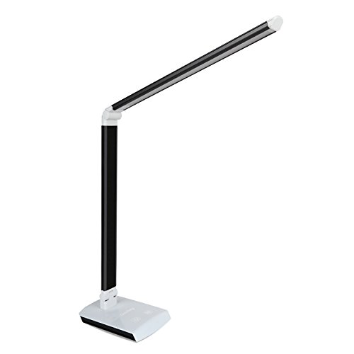 Deckey Dimmable 10W Rotatable LED Desk Lamp,Tou...