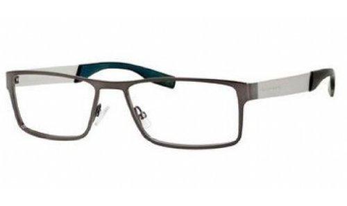 Hugo Boss Eyeglasses 0551 Semi Matte Dark Ruthenium 56-17-140
