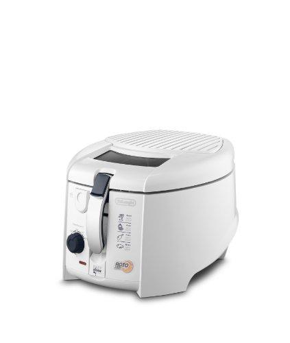 Delonghi F28311 1800W Non-USA Compliant Deep Fryer, 1Kg, White