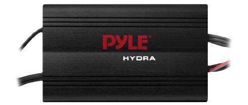 Price comparison product image Pyle Audio PLMRMP3B 4 Channel 800 Watt Waterproof Compact Marine Boat Stereo Amplifier