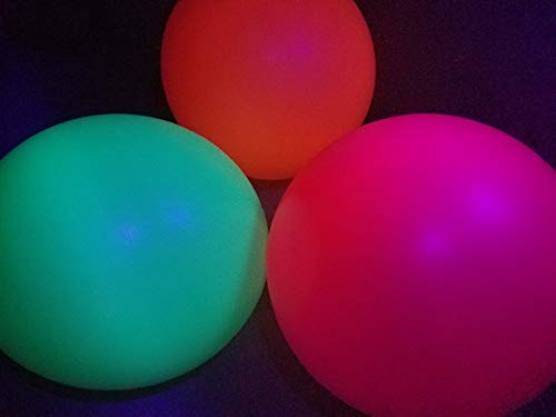 Blacklight Party Balloons - Big 36