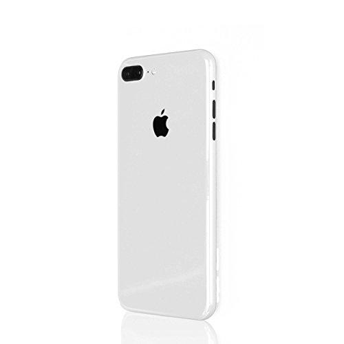 AppSkins Rückseite iPhone 7 PLUS Full Cover - Brilliant Diamantweiß/ ceramic white
