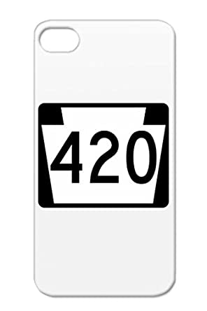 Weed Symbols Shapes 420 High Marijuana Pot Stoner Signs White