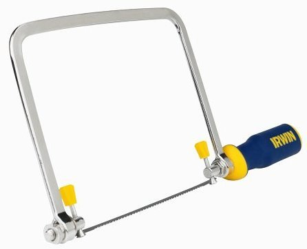 "Irwin 2014400 6-1/2"" Pro-Touch Coping Saw"