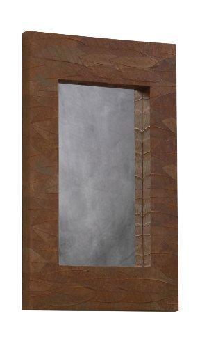 Linon 72 by 36-Inch Mahogany Mirror