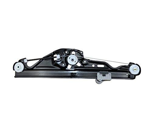 (A-Premium Power Window Regulator without Motor for BMW E60 E61 525i 528i 530i 535i 545i 550i M5 Rear Right Passenger Side)