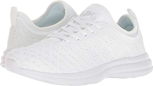 Eyelet Gorgeous (Athletic Propulsion Labs (APL) Women's Techloom Phantom White 9 B US)