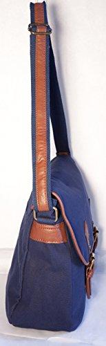 Format 38 porté bandoulière Sac épaule Gibecière A4 Cours ANCIENT Messenger EUR Besace 00 Homme PRIX Toile Bleu porté Marine Femme de Sac w8wqBTp
