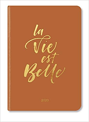 Booklet Diary Glamline La Vie 2020 Amazon Fr Livres