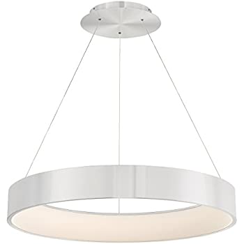 Amazon.com: WAC Lighting PD-33732-AL Corso 32in LED