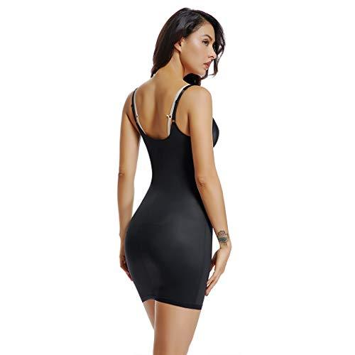 e5eee0fcd0188 ... Full Slips for Women Under Dresses Long Cami Slip Shapewear Seamless Body  Shaping Control Slip ...