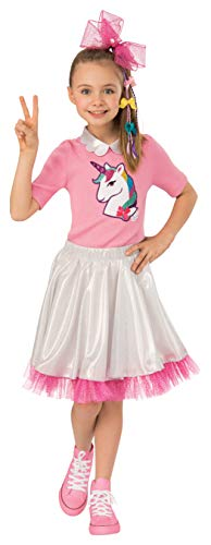 JoJo Siwa Unicorn Candy Shop Halloween Costume 3 Pcs Girls Medium 8-10 -