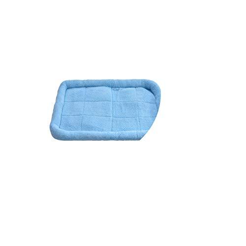 Warm Kennel for Small Medium Large Dogs Soft Fleece Nest Dog Mat Fall Winter Mat Damp-Proof Pet Bed Warming Dog House,Blue,70x54cm