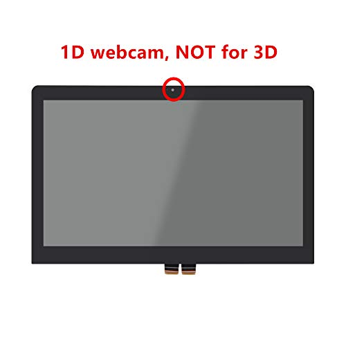 LCDOLED Compatible 15.6 inch FullHD 1080P LED LCD Display Touch Screen Digitizer Assembly Replacement for Lenovo ThinkPad S5 Yoga 15 20DQ (NOT for 3D Webcam)