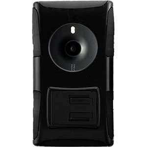 Nokia Lumia 1020 My.Carbon 3-in-1 Rugged Case, Black