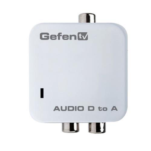 Gefen Digital Audio To Analog Audio Adapter/Converter (GTV-DIGAUD-2-AAUD) ()