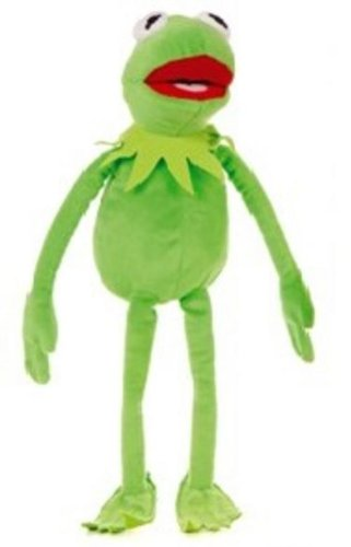 Frog Body Puppet - The Muppets Exclusive 16 Inch DELUXE Plush Figure Kermit