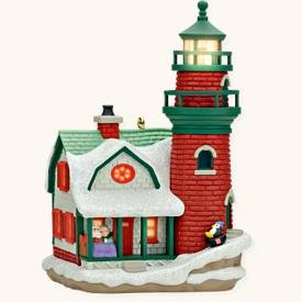 Lighthouse Greetings 12th In Series 2008 Hallmark Keepsake Ornament