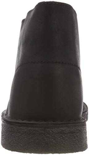 Nero Boot Originals black Clarks Leather Desert Smooth Polacchine Uomo nEXA4qA