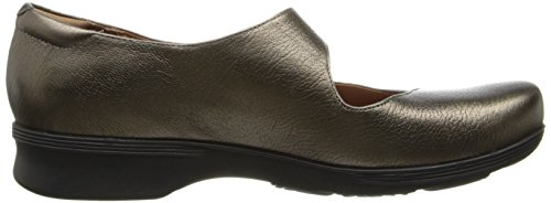 Clarks Womens Aubria Muse Mary Jane Flat Bronze leather