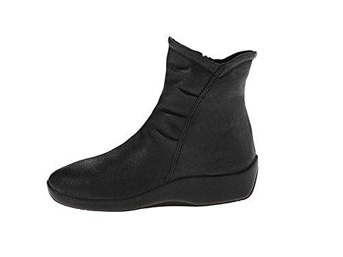 Arcopedico Women's L19 Ankle Comfort Vegan Boot (36 (5.5-6 (B) US), Black) by Arcopedico (Image #3)