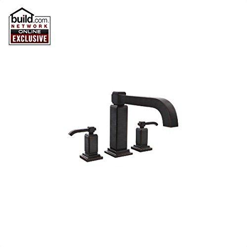 Pfister RT6-5WE Carnegie Roman Tub Filler Faucet Double Handle, Tuscan Bronze