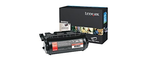 Lexmark T644 EXTRA HI YIELD CART ( 64435XA ) by (Lexmark Hi Yield Toner Cart)