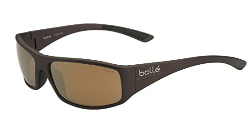 - Bolle Weaver Sunglasses, Polarized Inland Gold Oleo AR, Matte Brown