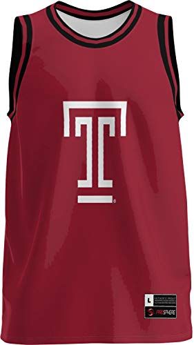 ProSphere Temple University Men's Basketball Jersey (Retro) FFA8 (X-Large)