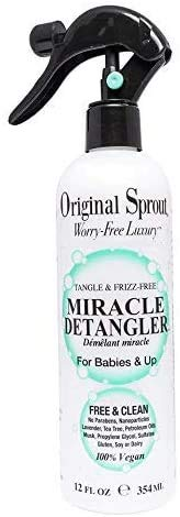 Original Sprout Miracle Detangler. Hair Moisturizer and Leave-In Conditioner Spray,12 oz