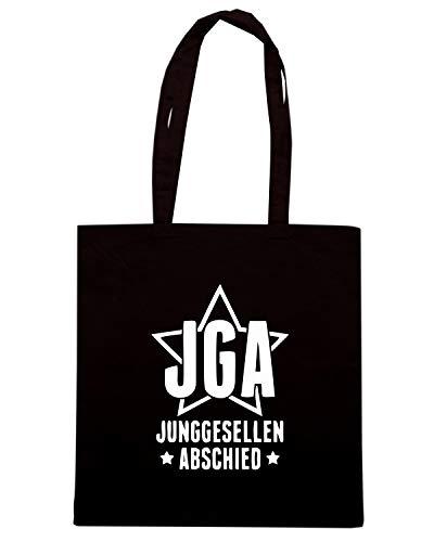 JUNGGESELLEN JGA Speed Nera Shirt ABSCHIED Borsa Shopper MAT0043 nY1Zqw