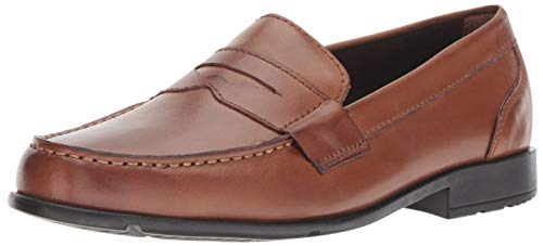 - Rockport Men's Classic Lite Penny Loafer, Cognac, 11.5 M US