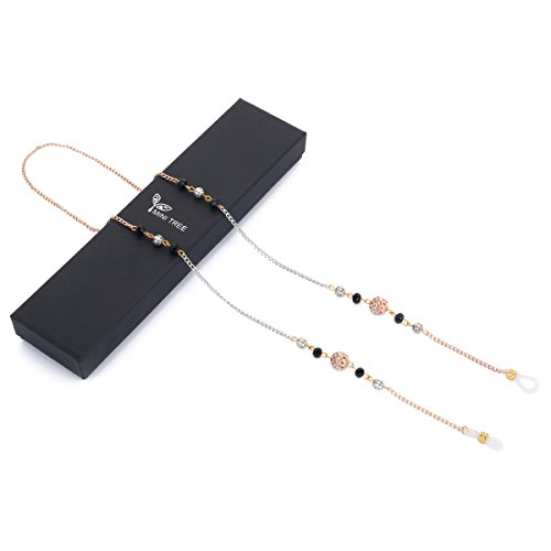 Mini Tree Necklace Eyeglass Chain Beaded Eyeglass Holder Sunglasses Strap and Cords for Women
