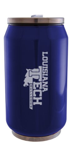 Louisiana Tech University - Stainless Steel Tailgate Can - Blue