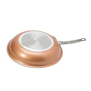 Kitchen Details Non-Stick Copper Frying Pan