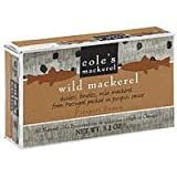 Coles Mackerel in Piripiri, 3.2 Ounce - 10 per case.