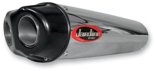 Jardine 18-1017-724-02 Polished Dual Outlet Slip-On - Jardine Exhaust Honda