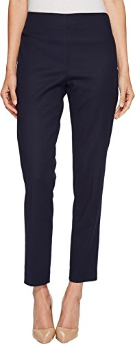 Vince Camuto Womens Doubleweave Side Zip Skinny Pants Night Sky 6 (Back Zip Pant)