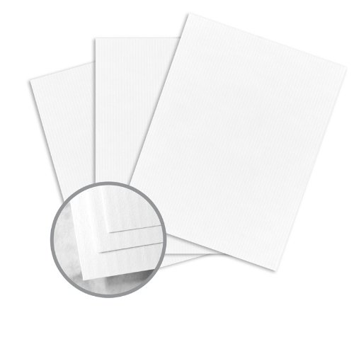 (CLASSIC COLUMNS Recycled Bright White Paper - 8 1/2 x 11 in 24 lb Writing Linear Embossed 100% Recycled Watermarked 500 per Ream)