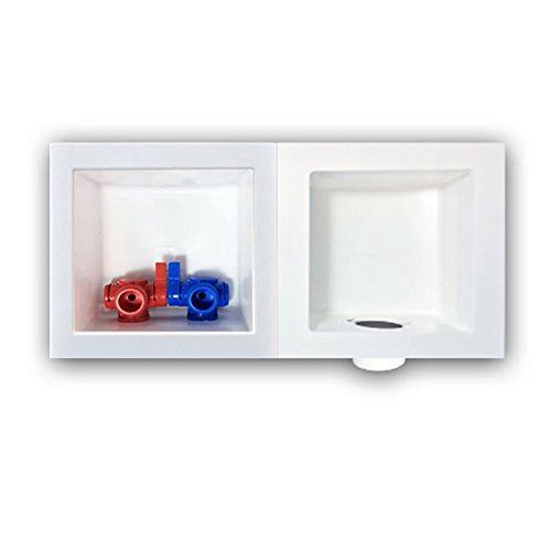 Ayrlett Small-In-One Wash Box w/ EP Valves & Arresters BRASS Pre-Assembled PEX by Ayrlett