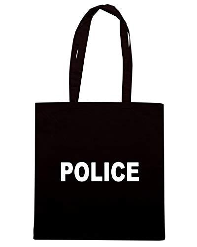 Speed Shirt TM0541 Borsa Shopper Nera POLICE 8ZfAr8Y
