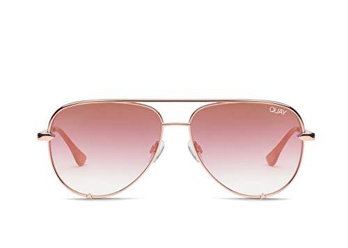 QUAY AUSTRALIA Women's High Key Mini QUAY X DESI Rose/Copper Fade One ()